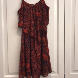 eyelash couture Dresses - Cute Red & Navy Dress
